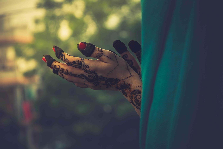 Mehndi Hand